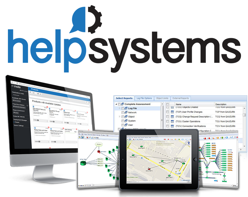 HelpSystems Network Mapping Software
