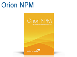 Solarwinds Orion NPM Network Performance Monitor